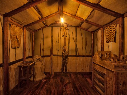 Voodoo Escape Room - Voodoo Hut