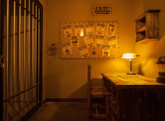 Western Escape Room - Jail