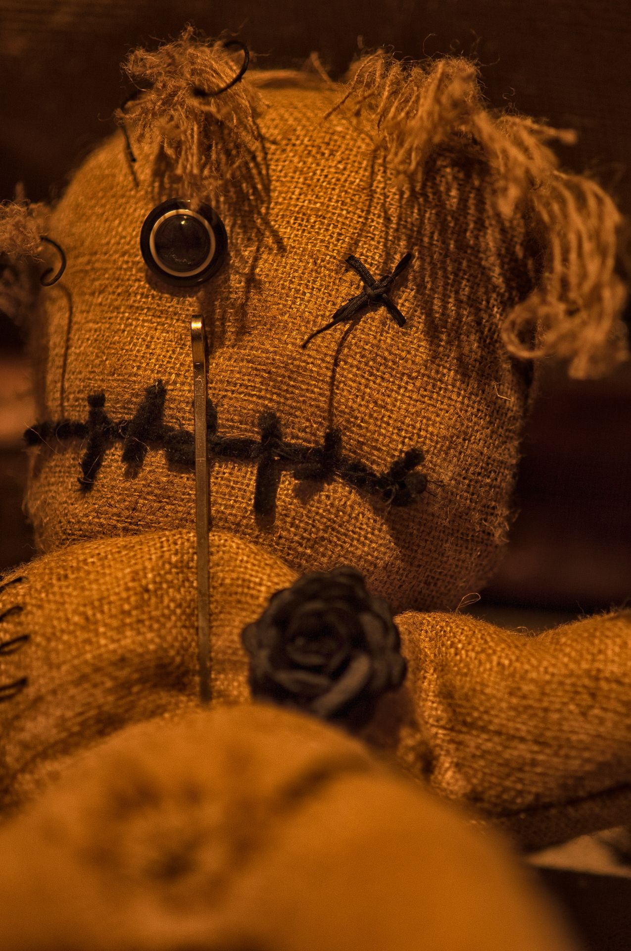 Voodoo Escape Room - Voodoo Doll With Stick